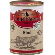 Landfleisch Wolf 100% Rind Dose 400 g
