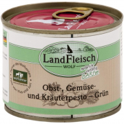 Landfleisch  Wolf Fruit, Vegetable & Herbs pesto Green Can 200 g