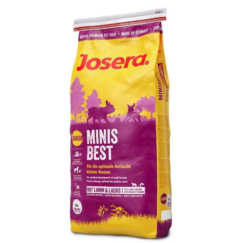 Josera Minisbest 1.5 kg 4032254740919 erfaringer