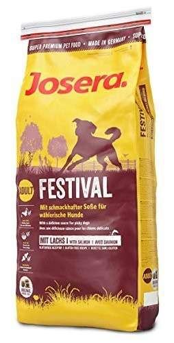Josera Daily Festival with Salmon 1.5 kg, 15 kg, 4 kg, 900 g kjøp billig med rabatt