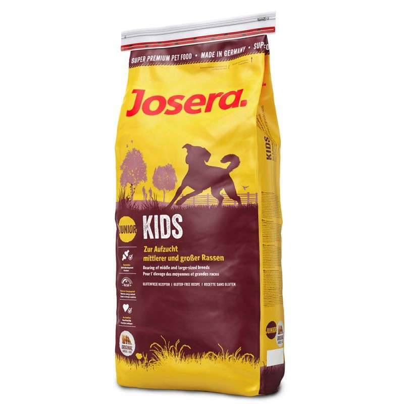 Josera Kids 900 g, 4 kg, 15 kg, 1.5 kg