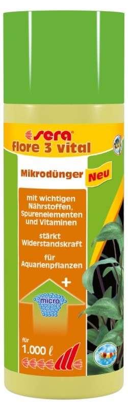 Sera Flore 3 vital 250 ml  met korting aantrekkelijk en goedkoop kopen