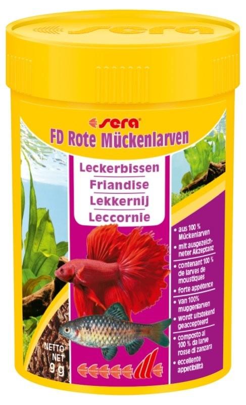 Sera FD Rode Muggenlarven  9 g