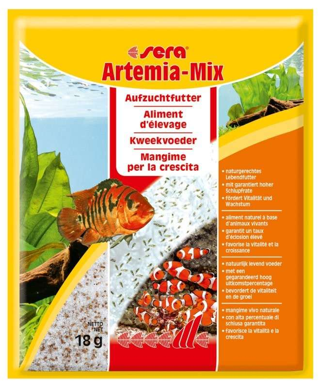 Fiskmat special Artemia-Mix 18 g   från Sera köp billiga på nätet
