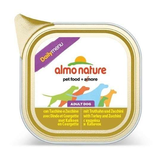 Almo Nature DailyMenu Adult Dog Dinde & Courgette 300 g, 100 g