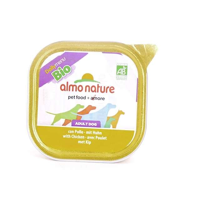 Almo Nature DailyMenu BIO Adult Dog Kip 100 g 8001154121162