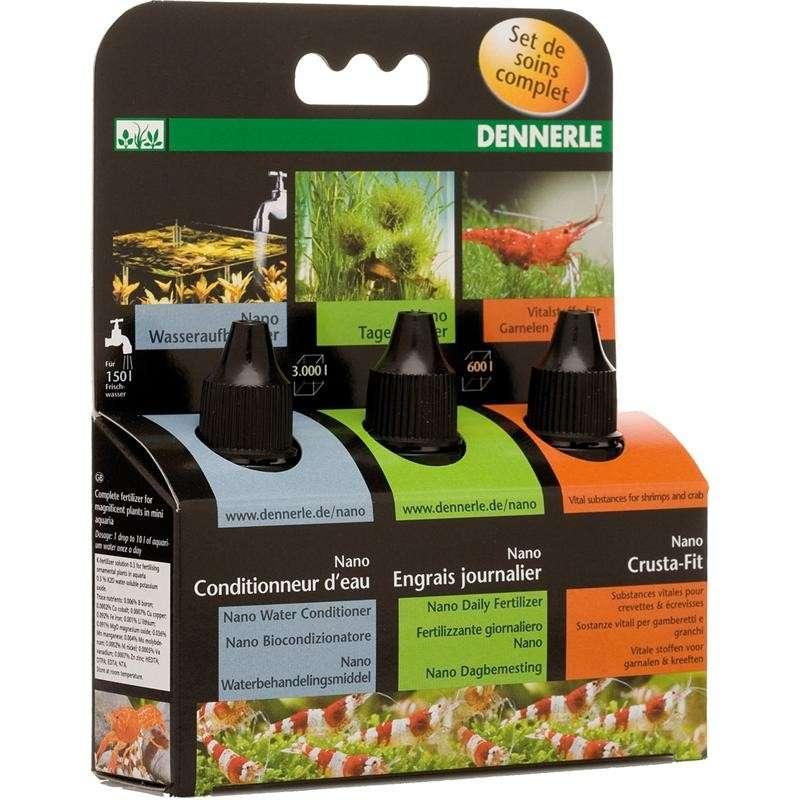 Dennerle Nano Verzorgingsset 3x15 ml  met korting aantrekkelijk en goedkoop kopen