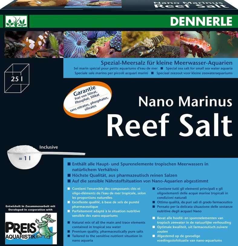 Dennerle Nano Marinus Reef Salt 1 kg  met korting aantrekkelijk en goedkoop kopen