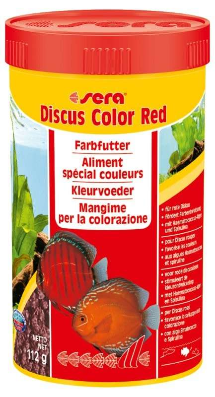 Sera Discus Color Red 112 g 4001942003346