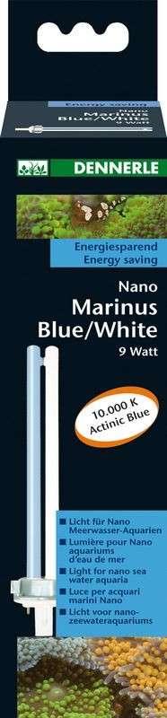 Dennerle Nano Marinus Blue / White 11 W   met korting aantrekkelijk en goedkoop kopen