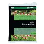 Dennerle Nano Shrimps gravel bed - Java Green 2Kg Etutarjoukset kaloillesi!
