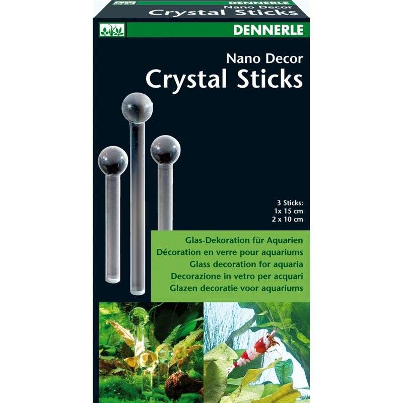 Dennerle Nano Decor Crystal Sticks 2x10 cm  met korting aantrekkelijk en goedkoop kopen