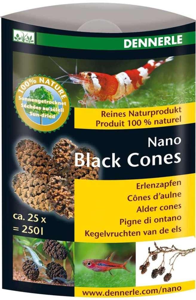 Dennerle Nano Black Cones 20 g  met korting aantrekkelijk en goedkoop kopen