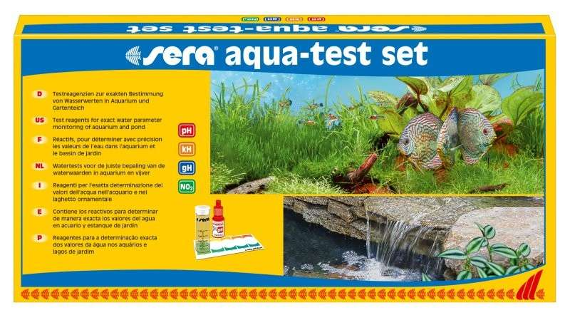 Sera Aqua-Test Set   met korting aantrekkelijk en goedkoop kopen