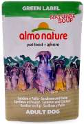 Almo Nature Green Label Natural Soup Kylling og Sardiner 140 g