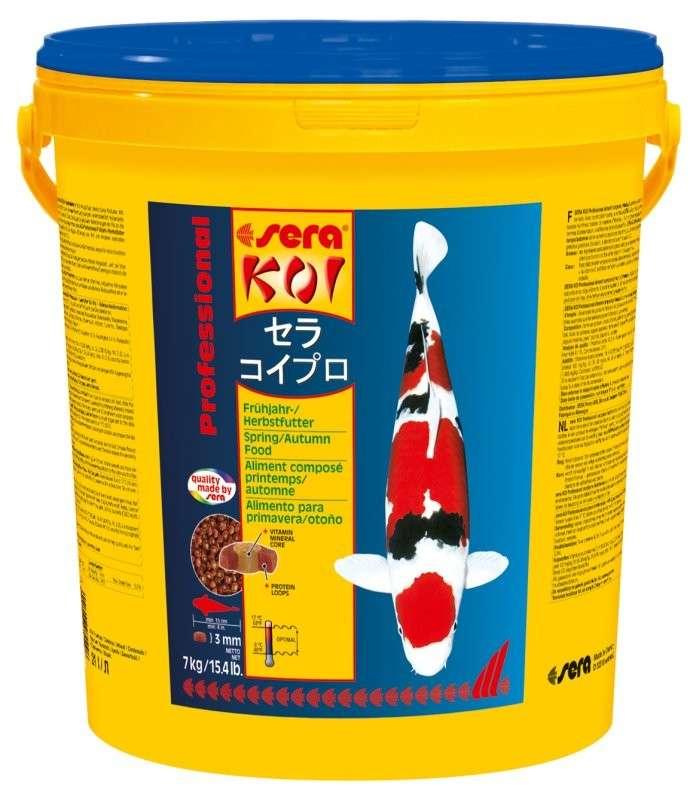 Sera KOI Professional Voorjaars-/Herfstvoeder 7 kg