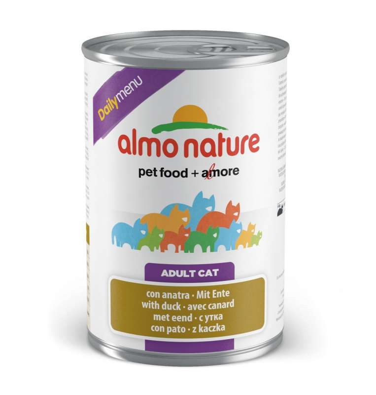 Almo Nature DailyMenu Adult Cat Eend 400 g 8001154125597