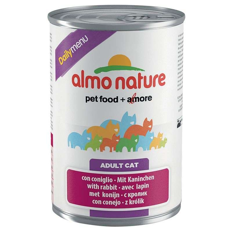 Almo Nature DailyMenu Adult Cat Konijn 400 g