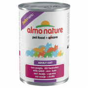 Almo Nature DailyMenu Adult Cat avec Lapin 400 g