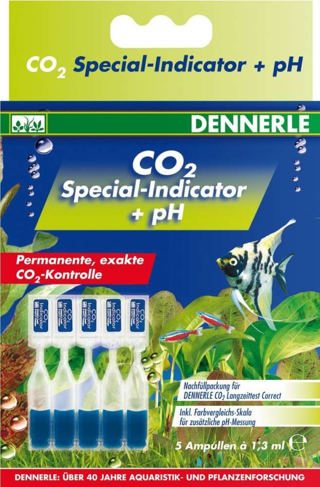 Dennerle CO2 Special - Indikator + pH 6.5 ml  met korting aantrekkelijk en goedkoop kopen