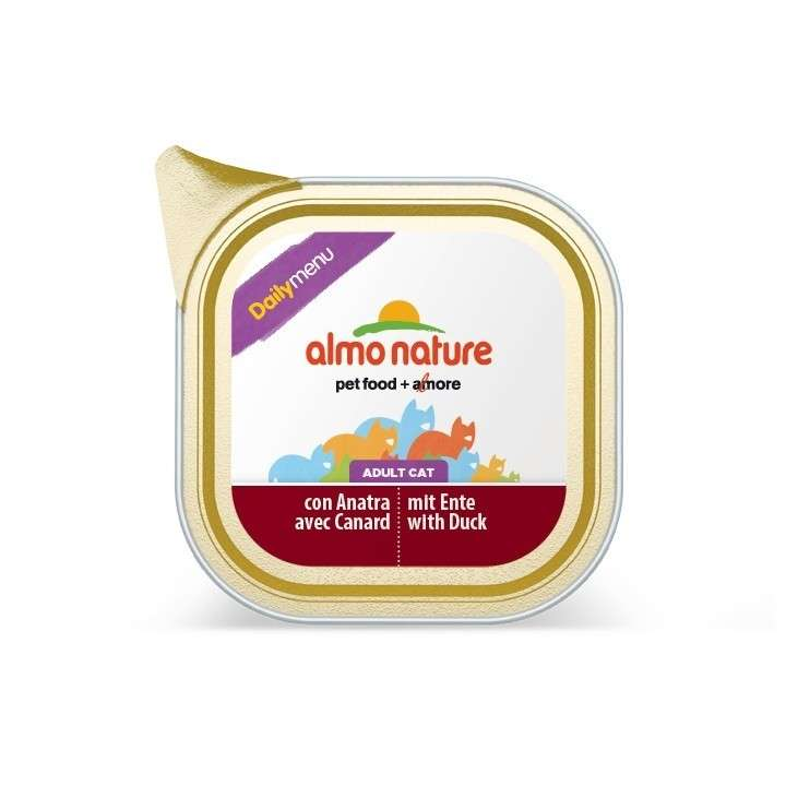 Almo Nature DailyMenu Adult Cat Eend 100 g
