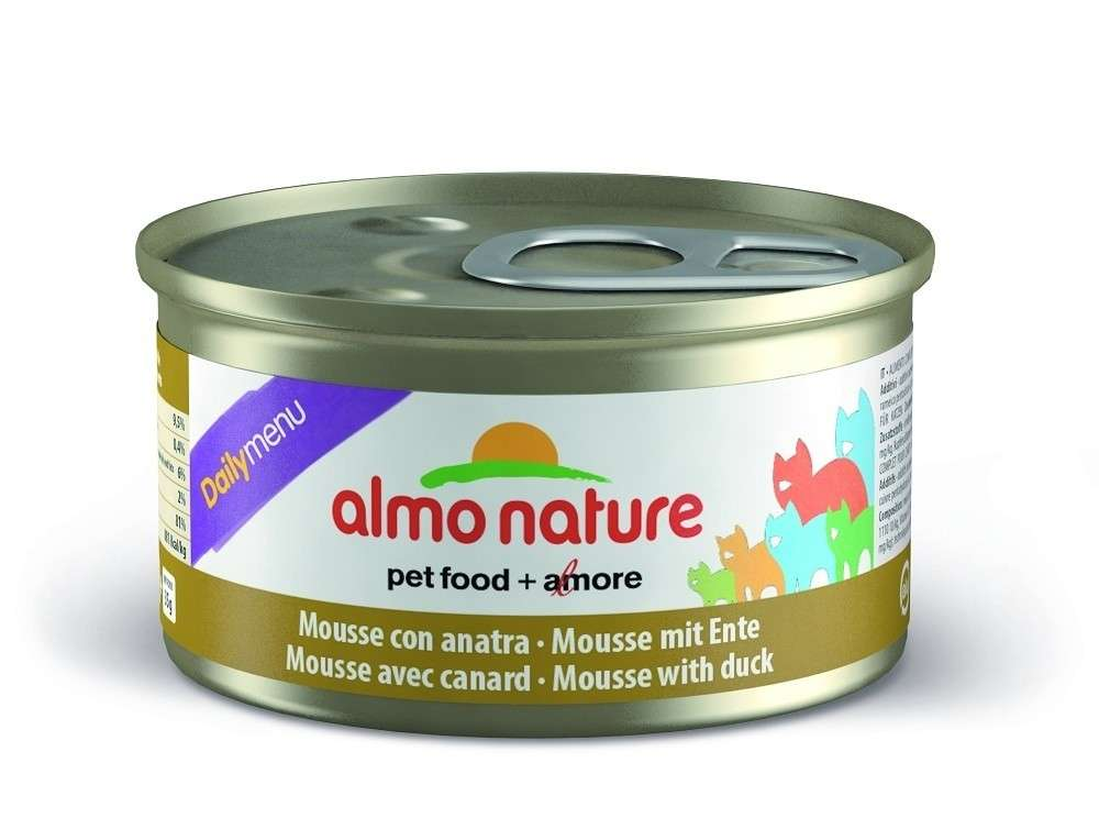 Almo Nature DailyMenu Mousse with Duck EAN: 8001154125009 reviews