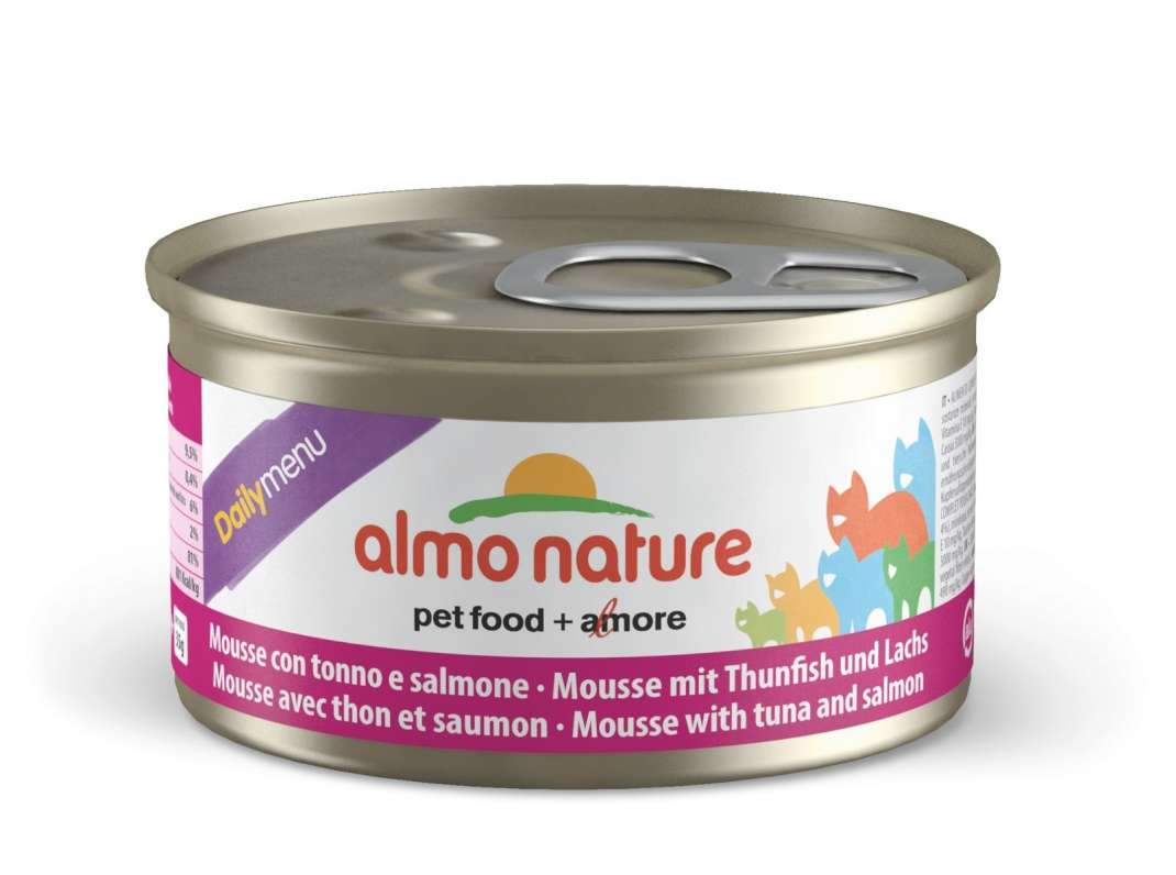 DailyMenu Mousse with Tuna and Salmon by Almo Nature 85 g buy online