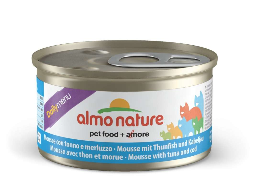 DailyMenu Mousse with Tuna and Cod by Almo Nature 85 g buy online