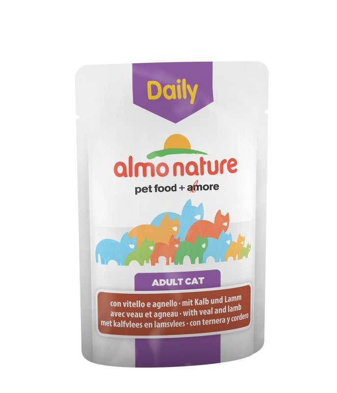 Almo Nature DailyMenu Adult Cat Veal and Lamb EAN: 8001154125856 reviews