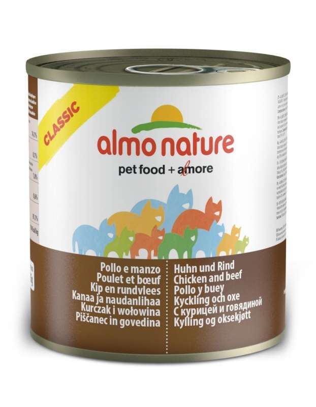 Almo Nature HFC Natural Kip en Rund 280 g
