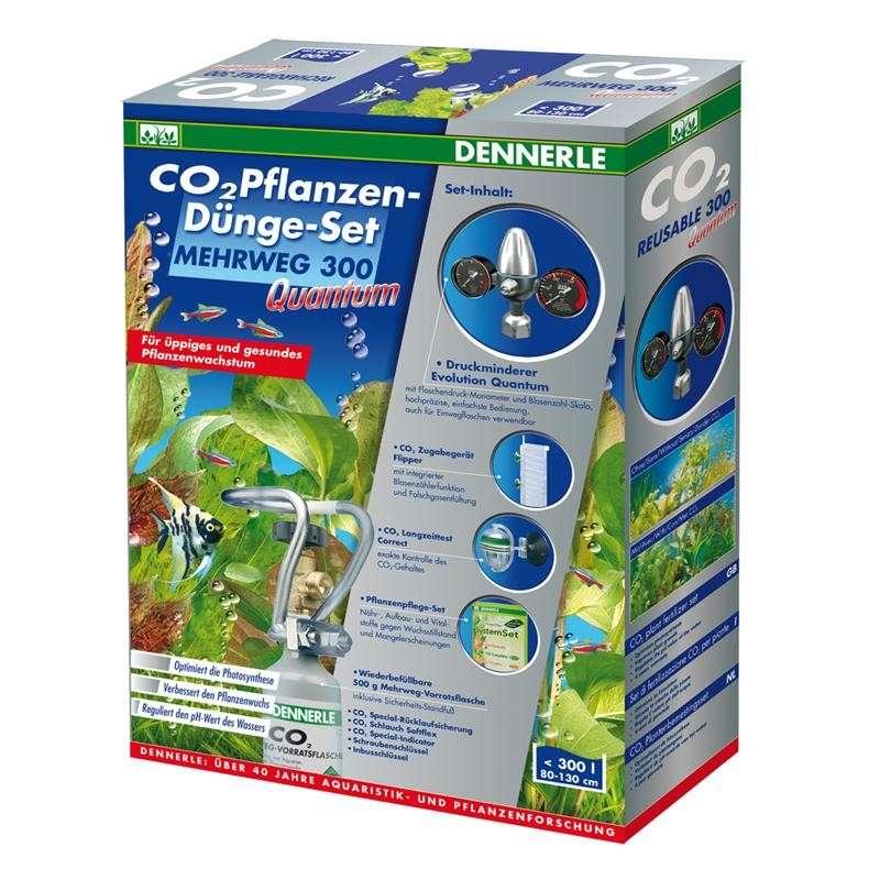 Dennerle CO2 - Plantenbemestingsset hervulbaar 300 Quantum   met korting aantrekkelijk en goedkoop kopen