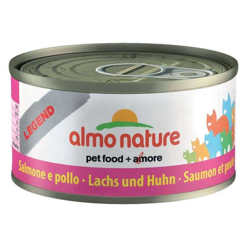 Almo Nature HFC Natural Zalm met Kip 70 g 8001154001655