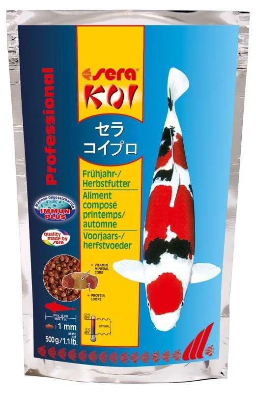 Sera KOI Professional Voorjaars-/Herfstvoeder  500 g