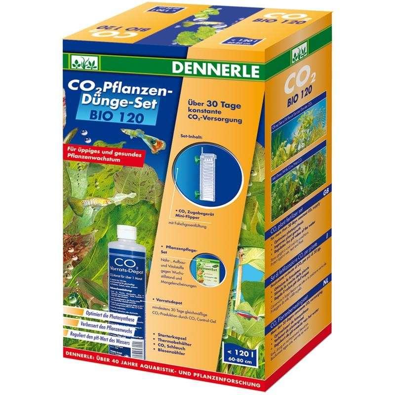 Dennerle CO2-Plantenbemestingset Bio 120   met korting aantrekkelijk en goedkoop kopen