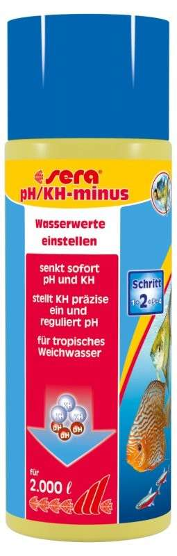 Sera pH/KH-minus 500 ml
