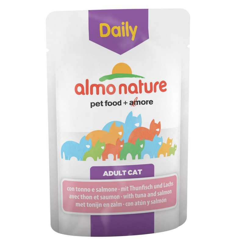 Almo Nature DailyMenu Adult Cat Tuna and Salmon EAN: 8001154125856 reviews