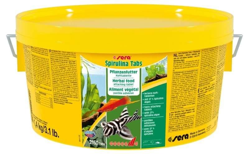 Sera Spirulina Tabs  1.4 kg