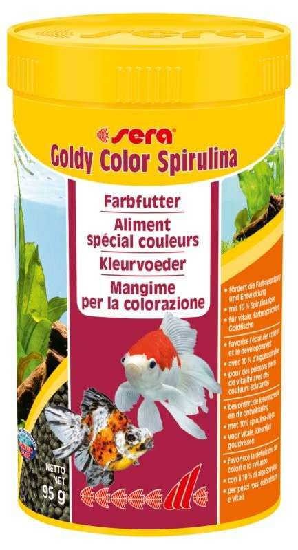 Sera Goldy color Spirulina 95 g