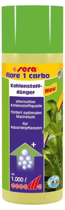 Sera Flore 1 carbo 250 ml  met korting aantrekkelijk en goedkoop kopen