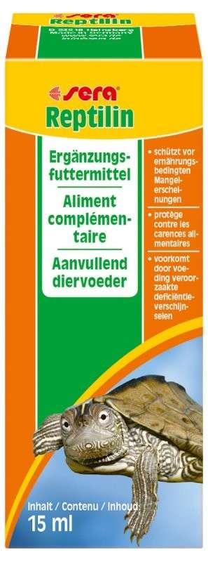 Sera Reptilin 15 ml  met korting aantrekkelijk en goedkoop kopen