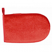 Lint Glove, double-sided, red