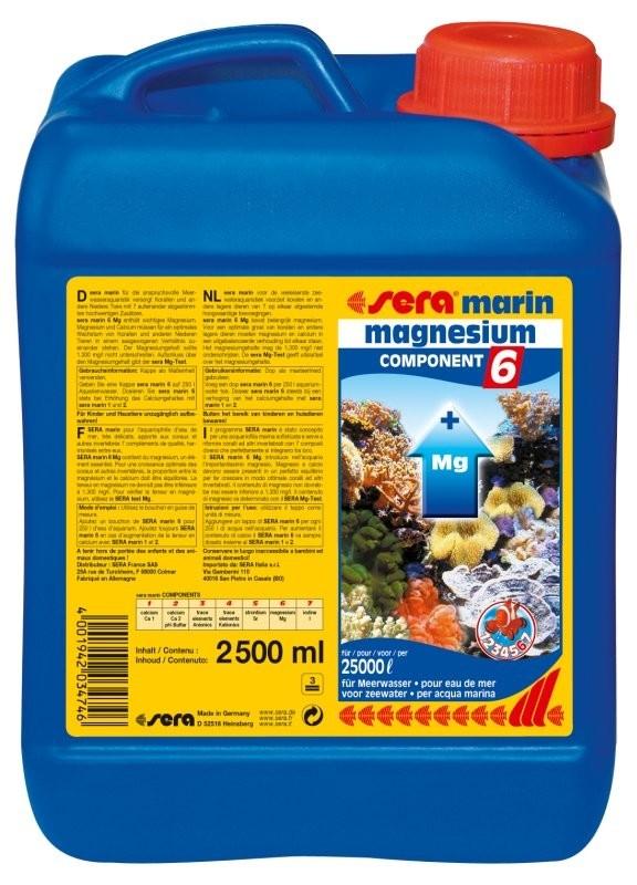 Sera Marin Component 6 Magnesium  2.5 l