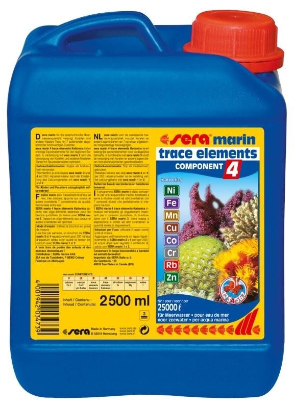 Sera Marin Component - 4 Trace Elements Kationics 2.5 l 4001942034739