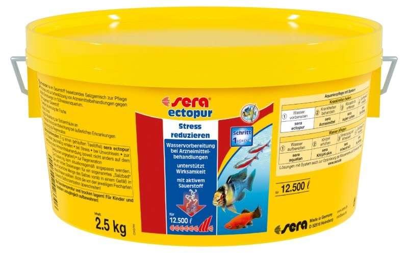 Sera Ectopur 2.5 kg 4001942023306