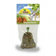 JR Farm Hay Bell with Carrot 125 g