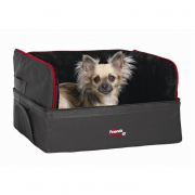 Trixie Car Seat, black 45x38x37 cm - Travel box for dogs