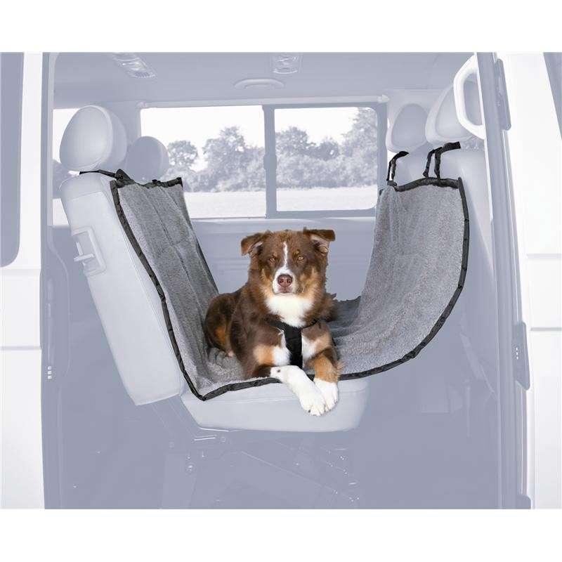 Trixie Car Seat Cover, light gray/black 145x160 cm  osta edullisesti
