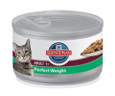 Science Plan Feline - Adult 1+ Perfect Weight mit Huhn 24x82 g