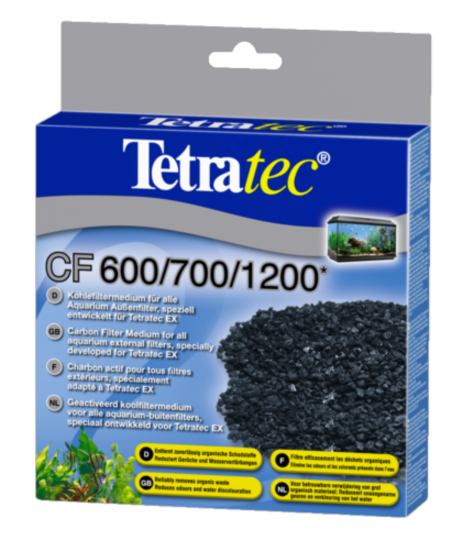 Tetra CF 600/700/1200 100g Carbon Filter medium 800 ml
