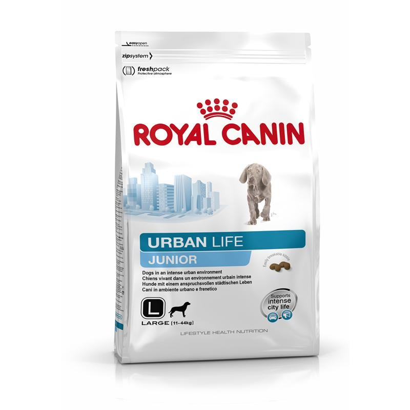 Royal Canin Lifestyle Health Nutrition Urban Life Junior Large 3 kg, 9 kg